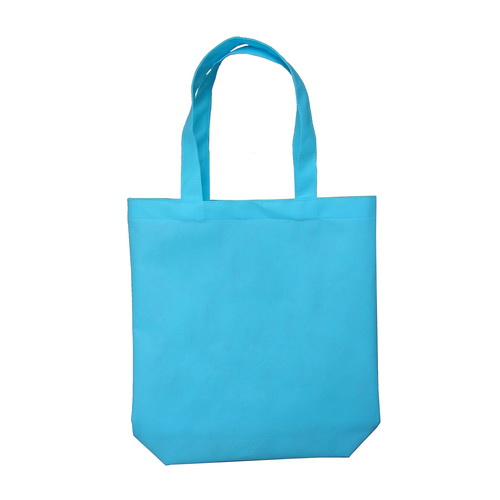 กระเป๋าผ้าสปันบอน สีฟ้า