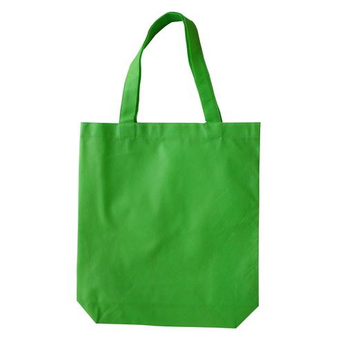 กระเป๋าผ้าสปันบอน สีเขียว