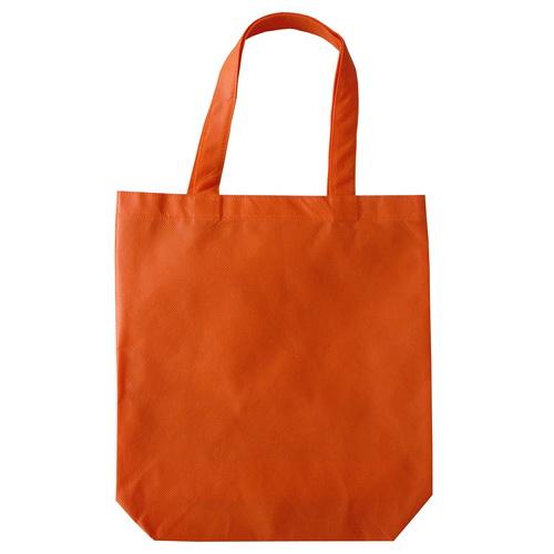 กระเป๋าผ้าสปันบอนสีส้ม