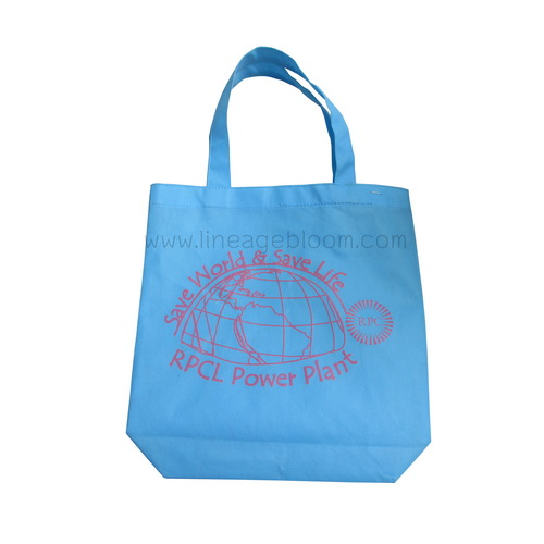 กระเป๋าผ้าสปันบอน ตัวอย่างสกรีนโลโก้