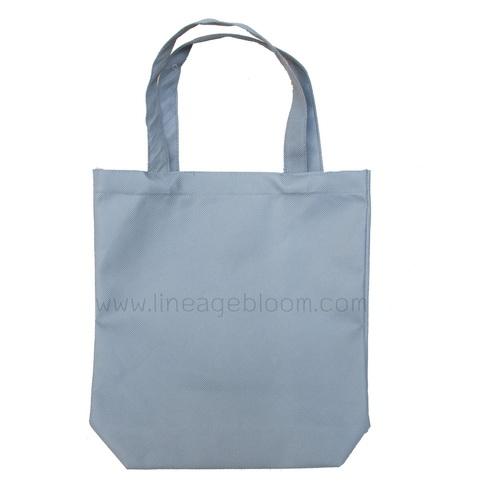 กระเป๋าผ้าสปันบอน สีเทา