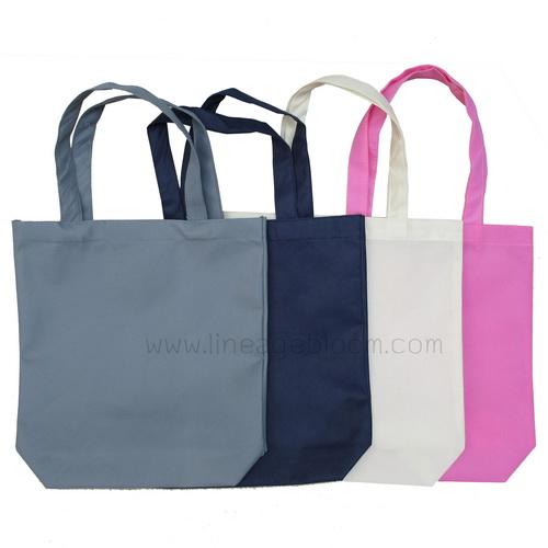 กระเป๋าผ้าสปันบอน สีต่างๆ พร้อมส่ง