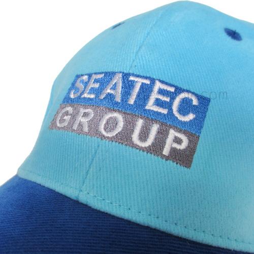 ตัวอย่างงานปัก บนหมวก