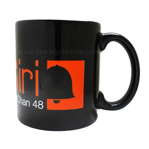 แก้วเซรามิกสีดำ โลโก้ KarnSiri