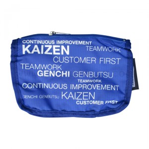 กระเป๋าผ้าร่ม KAIZEN Toyota สีน้ำเงิน