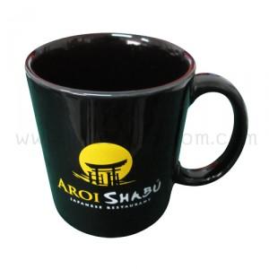 แก้วเซรามิกสีดำ AROI SHABU