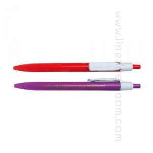 ปากกาพลาสติก PP-9289A ม.ธรรมศาสตร์