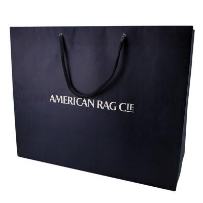 ถุงกระดาษ AMERICAN RAG CIE สีกรมท่า