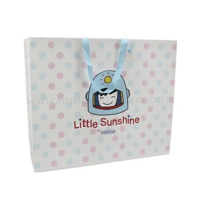 ถุงกระดาษ Little Sunshine ด้านสีฟ้า