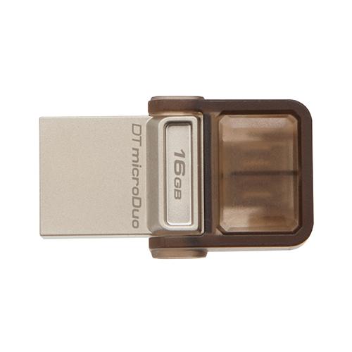 แฟลชไดร์ฟ Kingston รุ่น MicroDuo ความจุ 16GB