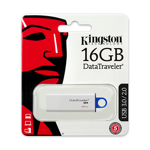 แฟลชไดร์ฟ Kingston รุ่น G4 สีเหลือง ความจุ 8GB