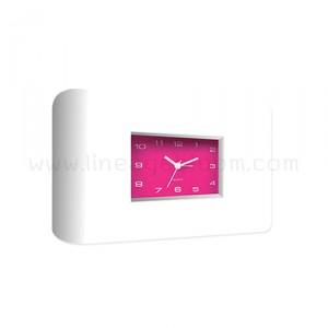 นาฬิกาตั้งโต๊ะ รุ่น EG6706-D2 สีชมพู