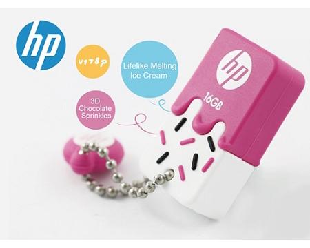 แฟลชไดร์ฟ HP รุ่น V178P สีชมพู