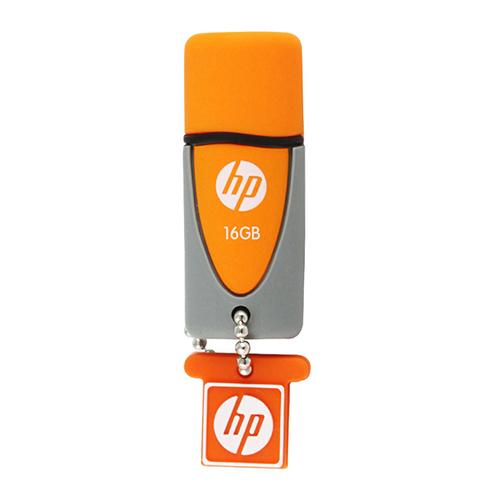 แฟลชไดร์ฟ HP รุ่น V245O สีส้ม