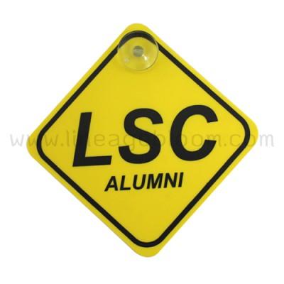 ป้ายติดรถยนต์ LSC ALUMNI