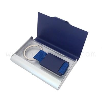 กล่องใส่นามบัตร รุ่น NC-KC สีน้ำเงิน