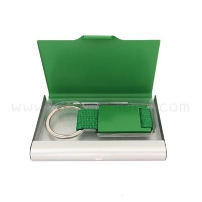 กล่องใส่นามบัตร รุ่น NC-KC สีเขียว