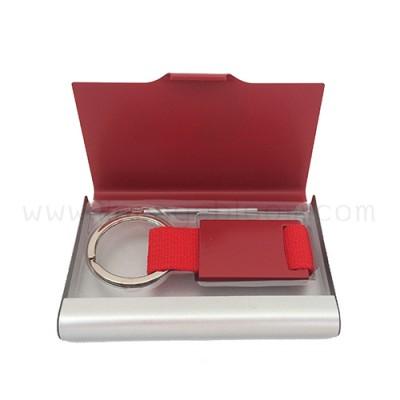กล่องใส่นามบัตร รุ่น NC-KC สีแดง