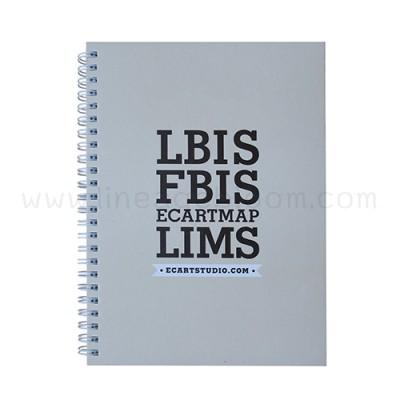 สมุดโน๊ต A5 LBIS ด้านหน้า