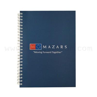 สมุดโน๊ต A5 MAZARS ด้านหน้า