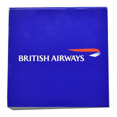 กระดาษก้อน British Airways ขนาด 10*10 CM ปกกระดาษอาร์ต 210 แกรม พิมพ์ 4 สี