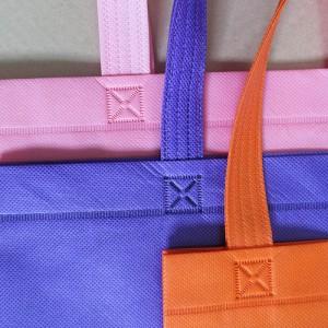 กระเป๋าผ้าปั๊มความร้อน แทนการใช้ด้ายเย็บ