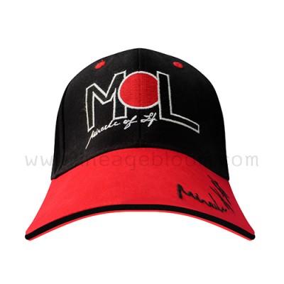 หมวกแก๊ปผ้าพรีส Miracle of life