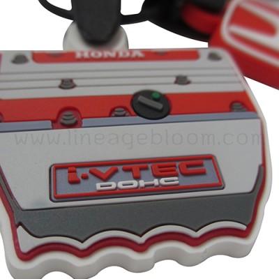 พวงกุญแจยางหยอด HONDA I-VTEC