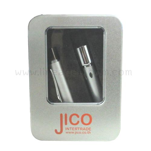 ตัวอย่างงานแฟลชไดร์ฟปากกา จากลูกค้า JICO