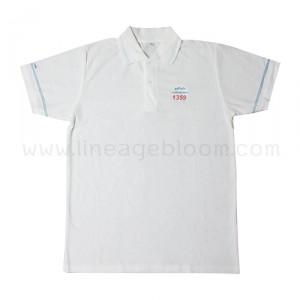 เสื้อโปโล สีขาว