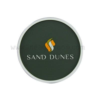 จานรองแก้วยางหยอด sand dunes